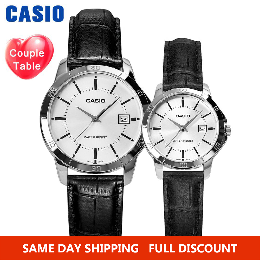 Casio Watch Men Couple Watch Set Top Brand Luxury Ladies Clock Quartz Wrist Watch Sport Men Watch Waterproof Women Watches Reloj