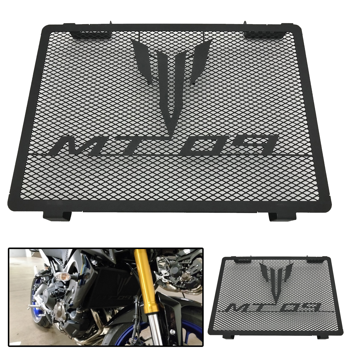 Motorcycle MT-09 XSR900 Radiator Guard Grille Grill Cover Protector For YAMAHA MT 09 FZ09 FZ 09 MT-09 TRACER 2014-2020 2018 2019 title=