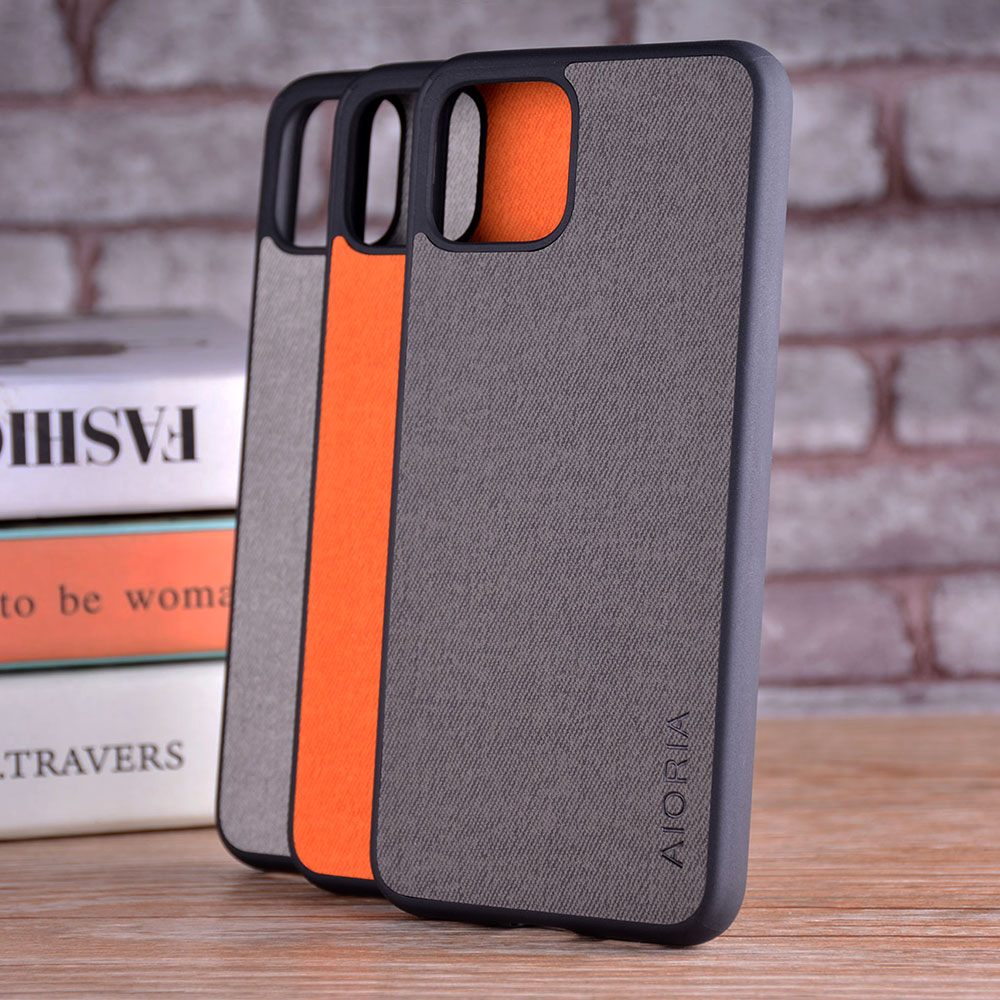 Case For Google Pixel 4 4 XL Coque Luxury Textile Leather Skin Soft TPU Hard Phone Cover For Google Pixel 4 4 XL Case