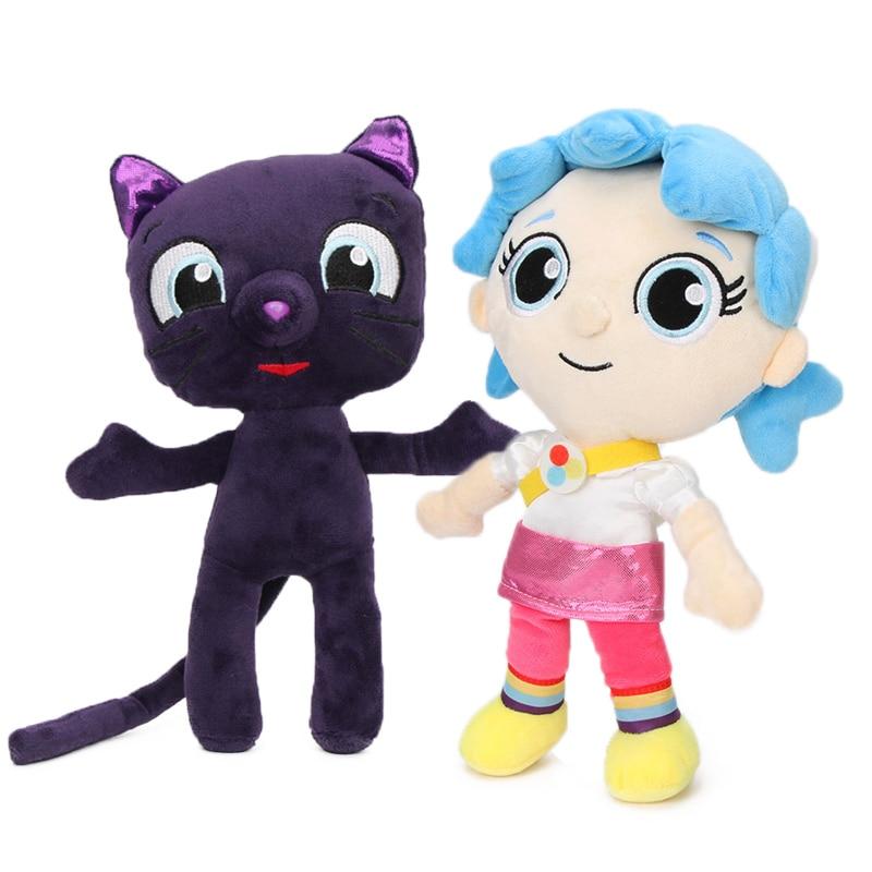 25cm True And The Rainbow Kingdom Plush Toys Bartleby Cat Plush Toy Grizelda Rainbow King Zee Soft Stuffed Doll Christmas Aliexpress