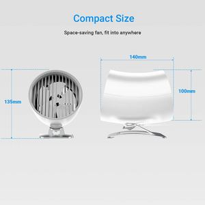 Image 4 - 2 Speed USB Desktop Fan Personal Portable Mini Table Fan With Touch Control Adjustable speed Cooling for Office Household Travel