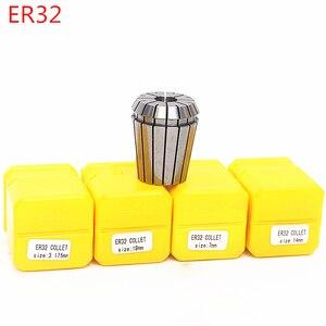 Image 3 - 2mm 20mm ER32 קולט צ אק כלי Bits מחזיק אביב קולט לcnc חריטת מכונת כרסום מחרטה כלי ספינדל מנוע מהדק