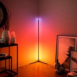 Moderne Ecke Boden Lampen Boden Lichter Innen Atmosphäre Lampe Bunte Schlafzimmer Wohnzimmer Dekoration Beleuchtung Stehlampe