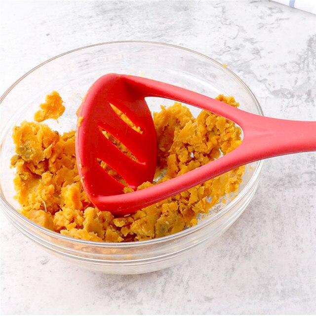 Silicone purée pressée pomme de terre Masher riz purée pomme de terre Masher presse outil de cuisson purée pommes de terre Ricer accessoires de cuisine