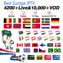 IPTV Spain/Italy/Germany/France/Arabic/Greece/Sweden Subscription Code
