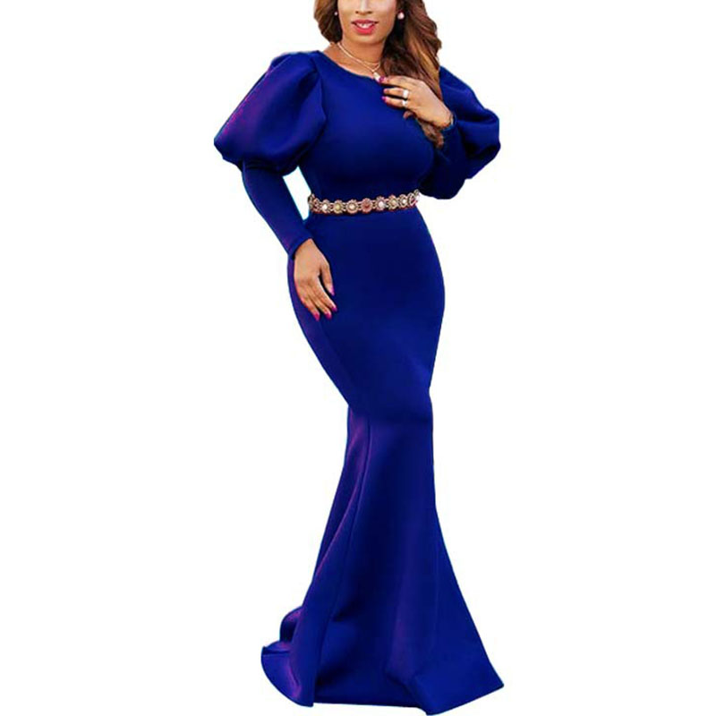 Autumn Long Floor Length Maxi Dress Women Sexy Party Dresses Long Sleeve Elegant Dresses in Dresses from Women 39 s Clothing