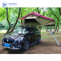 Car tent camping self driving outdoor cross country tent waterproof and windproof simple operation 2 4 people camping tent