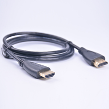 Sl Кабель hdmi macho para macho, banетный a ouro, 0,5 m, 1m, 1,5 m, 1,8 m,2m, 3m, 5m, 10 м кабель hdmi 1,4 в 1080 p 3d для проектора ps3,