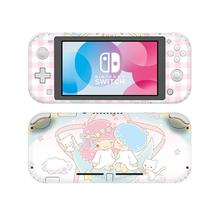 Little Twin Stars pegatina de piel para Nintendo Switch, pegatina de vinilo para Nintendo Switch Lite