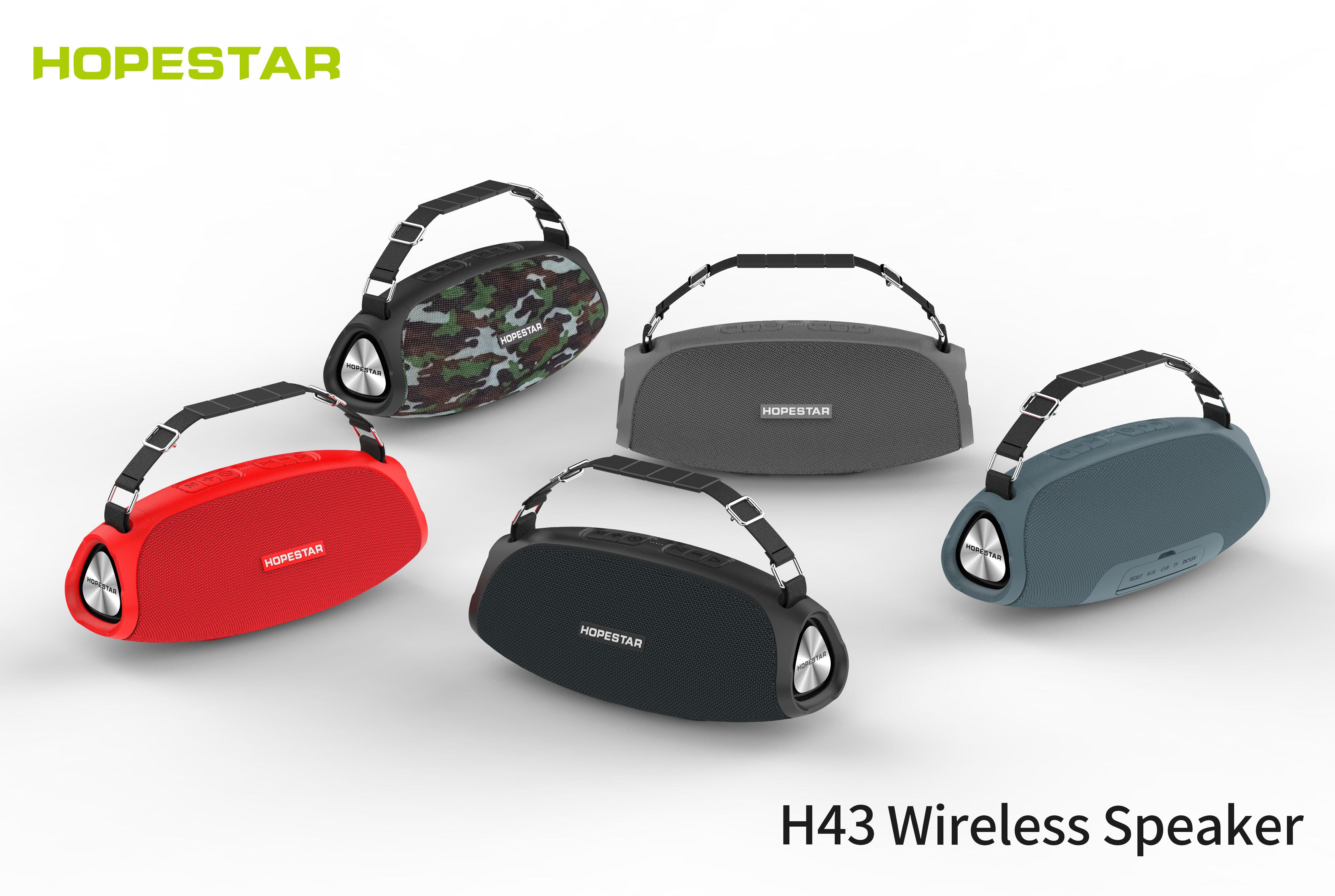 Hopestar h43 alto-falante sem fio bluetooth alto-falante