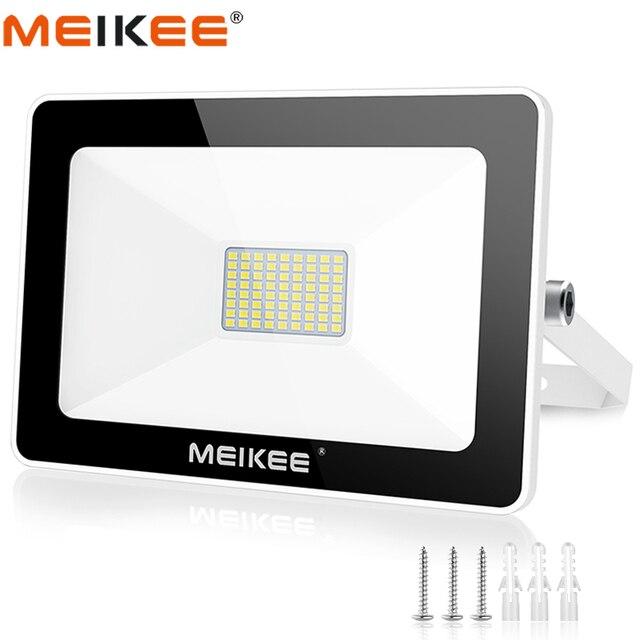 60W SMD LED 홍수 빛 방수 AC220V LED 투광 조명 프로젝터 반사판 램프 야외 스포트 라이트