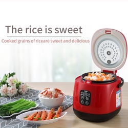 Mini Electric Rice Cooker Intelligent Automatic Household Kitchen Cooker 1-2 people Small Smart Appliances With Timing