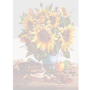 Image 2 - AZQSD Oil Painting Flower In Vase Painting By Numbers Paint Flower DIY Canvas Picture Hand Painted Home Decoration SZYH6310