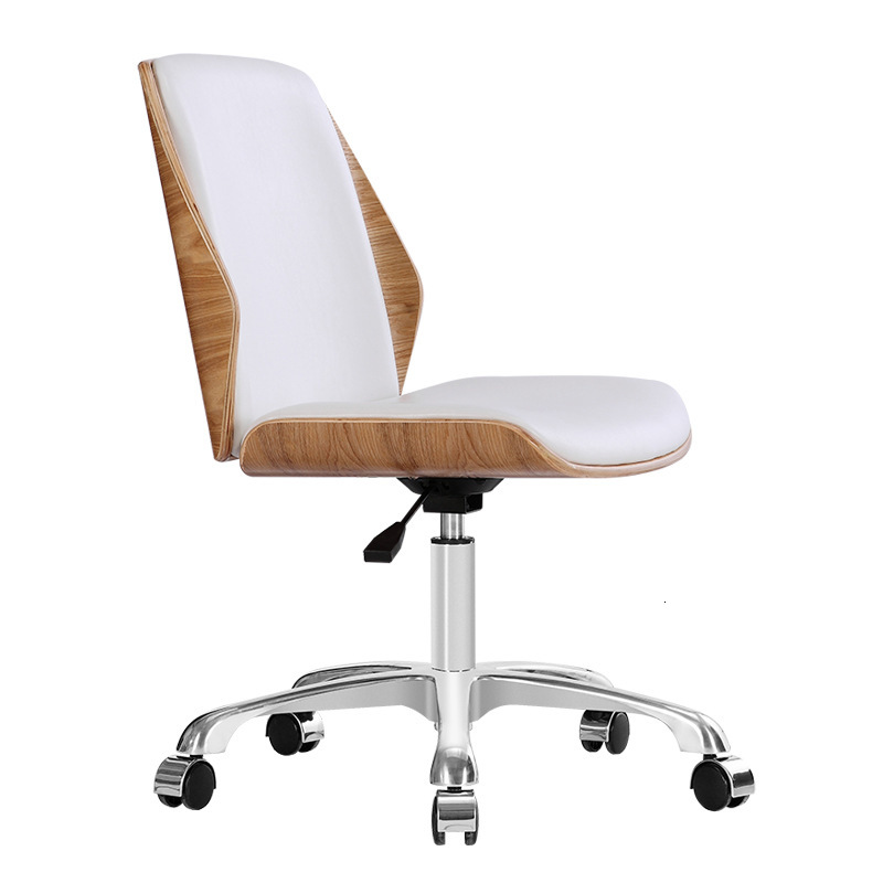 Leisure Armless Home Book Tables And Chairs Modern Minimalist Office Meeting Chair Reception Chair Middle Chair
