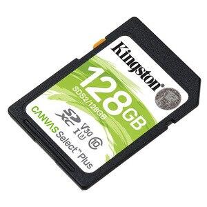 Image 4 - Kingston carte SD, 128 go, SDXC, classe 10, pour appareil photo Canon, Nikon, Sony