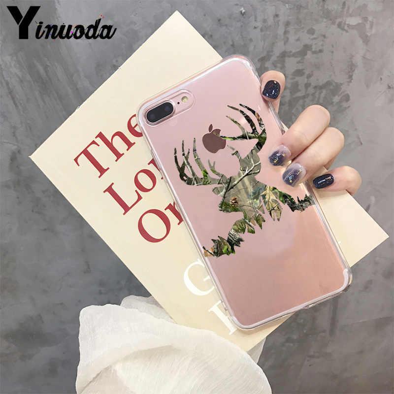 Yinuoda Săn Hươu Cam Phối Bán Chạy từ Thời Trang Ốp lưng điện thoại cho Iphone X XS MAX 6 6 S 7 7plus 8 8Plus 5 5S SE XR 11 Pro Max
