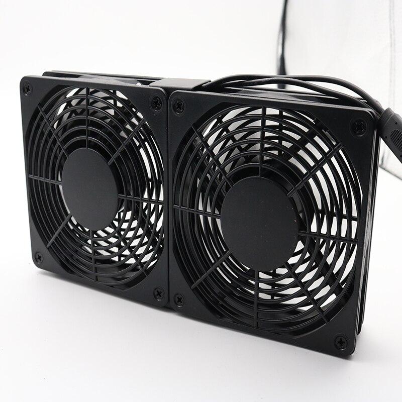 Беспроводной бесшумный вентилятор охлаждения для ПК, 5 в пост. Тока, 120 мм, 240 мм, 12 см
