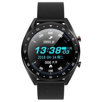 L7 Bluetooth Smart Watch Men Ecg+Ppg Hrv Heart Rate Blood Pressure Monitor Ip68 Waterproof Smart Bracelet for Android Ios