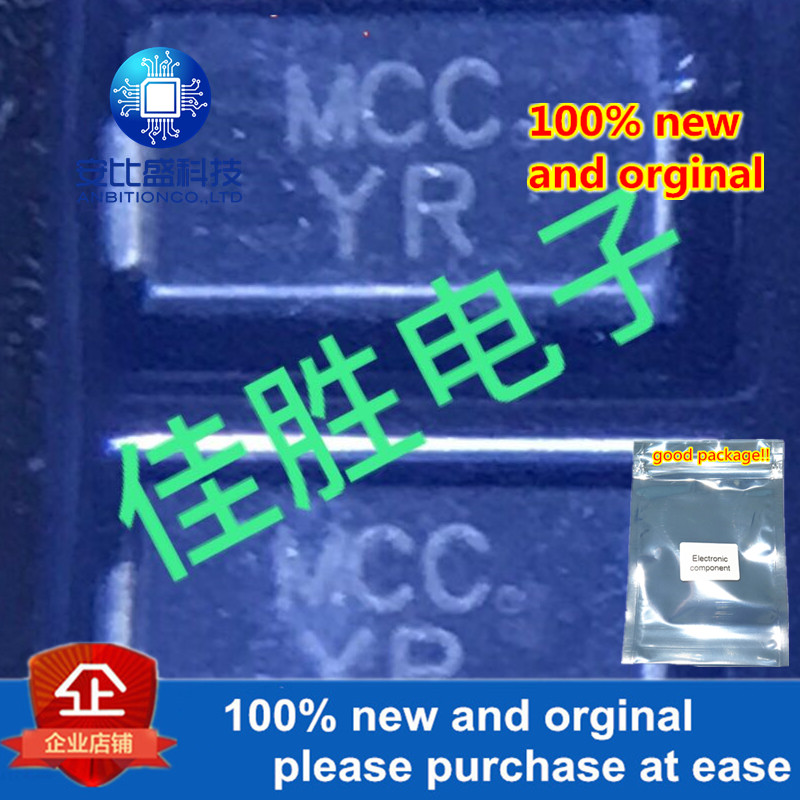 50pcs 100% New And Orginal SMAJ40CA  DO214AC Silk-screen YR BIDIRECTIONAL SMD Transient Diode In Stock