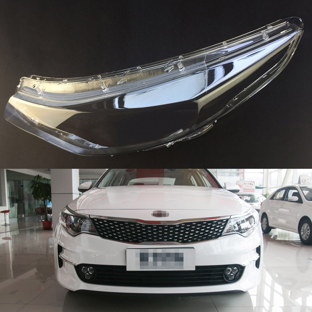 Car Headlamp Lens For Kia K5 Optima 2016 2017  Car  Replacement   Auto Shell Cover
