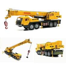 Высокое моделирование 1:50 сплав инженерный кран Модель Детские игрушки коллекция Подарки