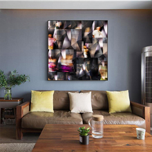 MUTU Modern Wall Art Mirror Abstract Decorative Canvas Painting Print And Posters The Picture For Sitting Room Unframed Shipping