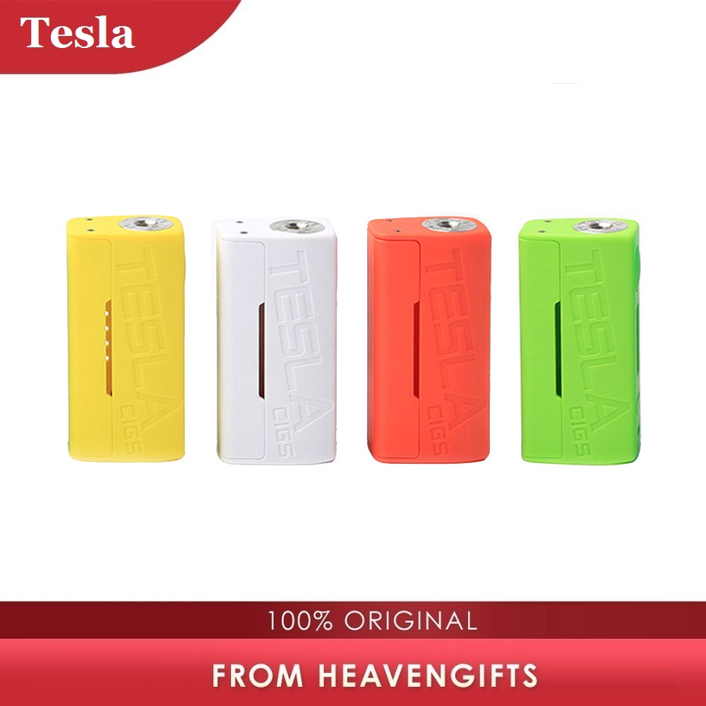Original 85W TESLACIGS Tesla WYE TC Box MOD Tri-button Design With 85W Output Power No 18650 Battery Fit For WYE H8 Mini Tank