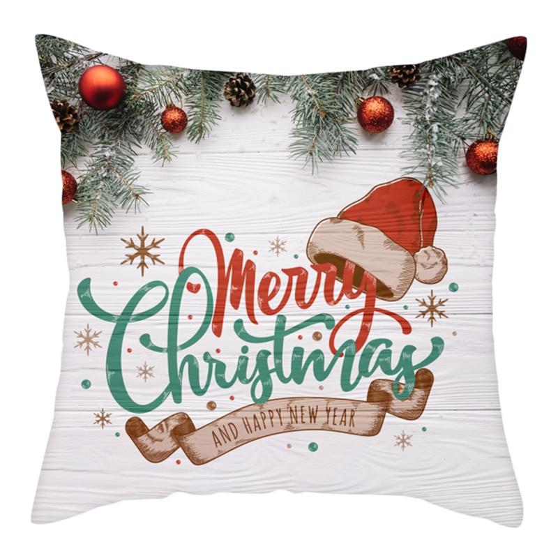 Купить nanacoba рождественский подарок ко дню чехлы санта клаус принт