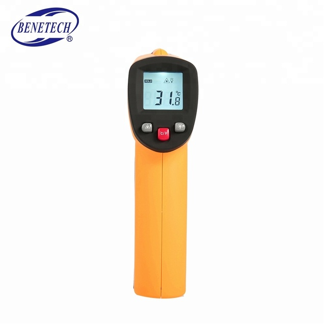 Digital Laser Infrared Thermometer, Non Contact Temperature Gun Instant Read for Kitchen Cooking BBQ Automotive and Industrial