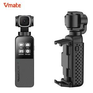 Snoppa Vmate tamaño de la palma de vídeo cámara de acción deportiva 4K 3-eje de mano del cardán estabilizador PK Gopro héroe 7 Yi 4K DJI Osmo acción