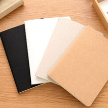 Blank Paper Notebook Office Vintage School Stationery Gift Kids DIY for Graffiti Paint
