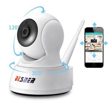 BESDER 1080P Home Security IP Camera Two Way Audio Wireless Mini Camera Night Vision CCTV WiFi Camera Cloud Storage Baby Monitor