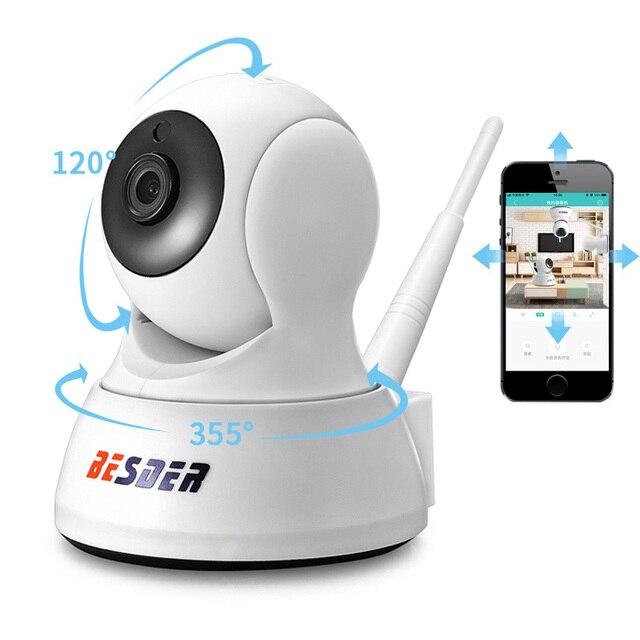BESDER 1080P אבטחת בית IP המצלמה שתי דרך אודיו אלחוטי מיני מצלמה ראיית לילה Cctv WIFI מצלמה ענן אחסון תינוק צג