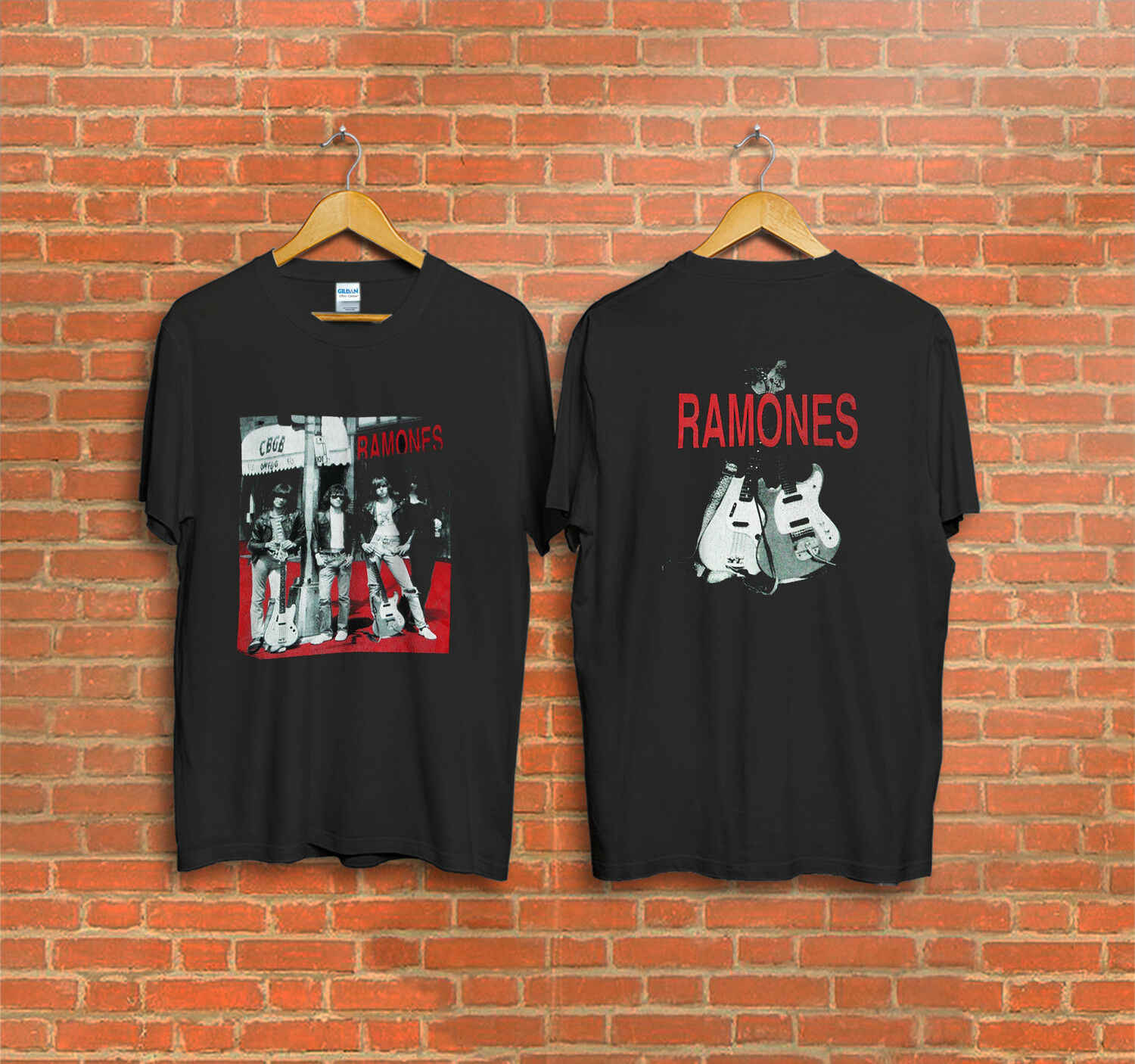 Vintage Ramones,CBGB OMFUG super collectible punk rock T-Shirt T Shirt O-Neck Fashion Casual High Quality Print T Shirt
