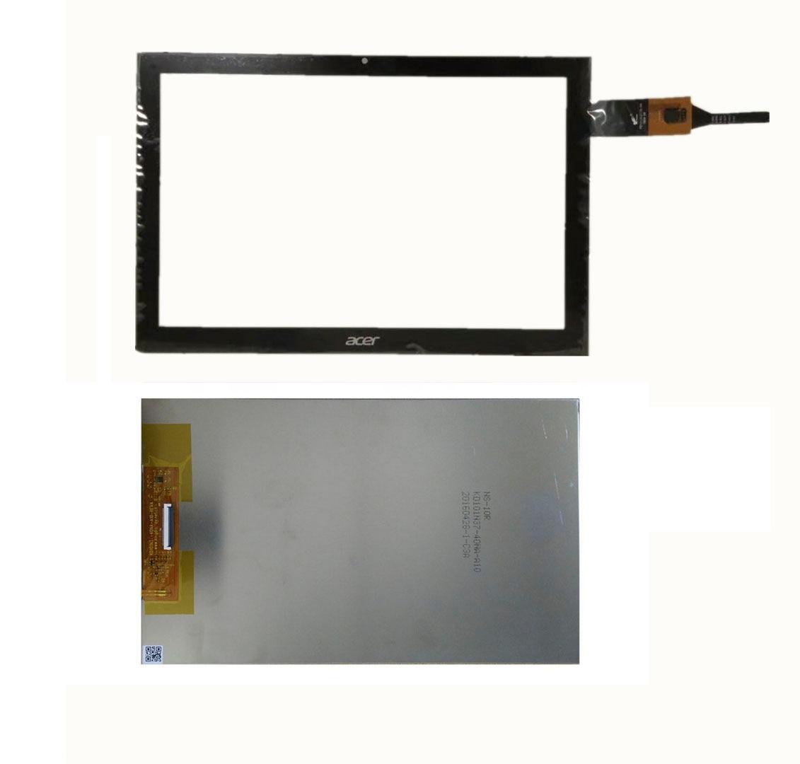 LPPLY, новый дигитайзер в сборе для acer iconia one 10 B3 A40 A7001 B3 A40, ЖК дисплей, матричный экран + сенсорный экран, дигитайзер, панель