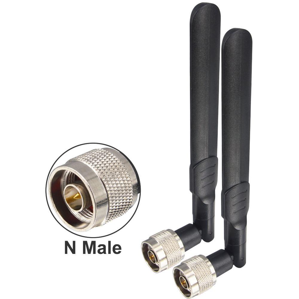 Antena WIFI de doble banda 12 dbi, 2,4G, 5G, 5,8 GH, N macho, amplificador de antenas Universal, enrutador WLAN, potenciador de antena Antena móvil SG7900 U/V Dualband, 144/430Mhz, SG-7900, alta ganancia dBi, Antena de Radio de coche, fuerte Antena de Base de señal, venta al por mayor