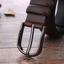 European and American Fashion Men's Leather Belt