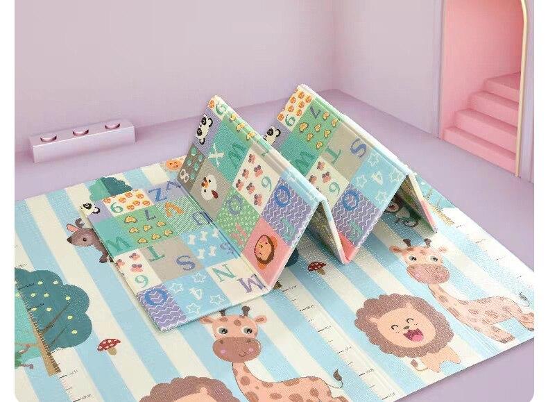 dupla face playmat casa jogo quebra-cabeça cobertor