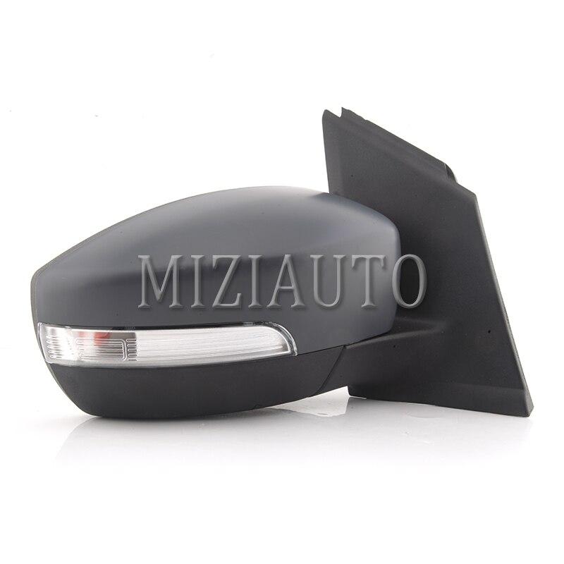 MIZIAUTO 6 Draht Für Ford Escape 2013 Auto Außerhalb Rückspiegel Rückspiegel mit Led anzeige Licht Montage - 3