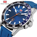 Спортивные часы MINI FOCUS  мужские водонепроницаемые кварцевые часы с силиконовым ремешком