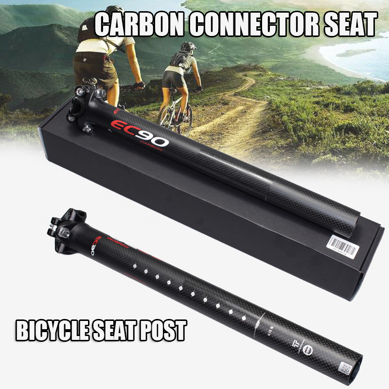 CY020084 New Mountain& Road 3K Full Carbon Fibre Bicycle Seatpost Carbon Bike Seatposts MTB Bike Parts 27.2/30.8/31.6*350mm