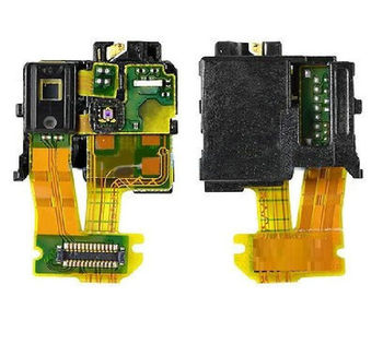 For Xperia Z C6603 L36h Headphone Jack Proximity Light Sensor Flex Cable Ribbon image