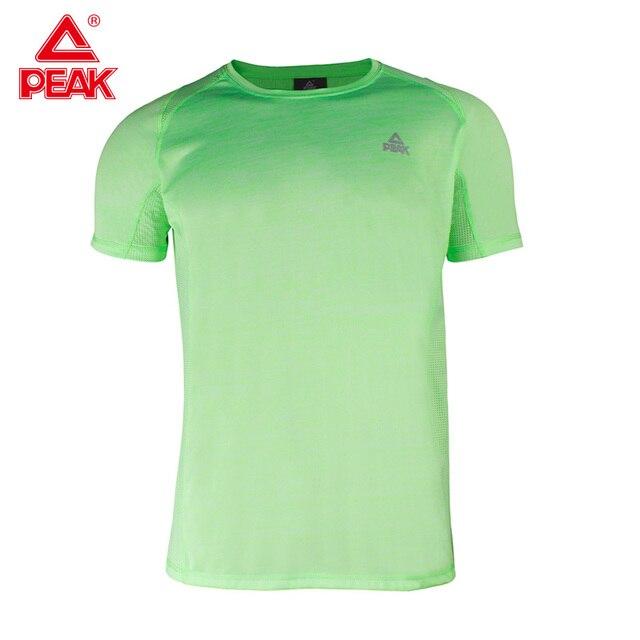 Peak ανδρικό μπλουζάκι εφαρμοστό για γυμναστήριο και σπορ