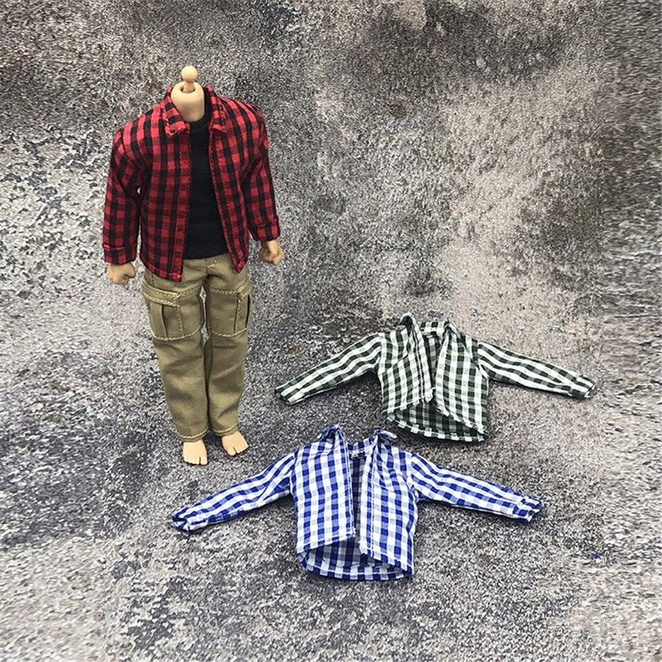 1//12 Scale Male Jacket/&Vest/&Pants Clothes Set Fit 6/'/'PH Action Figure Doll Toys