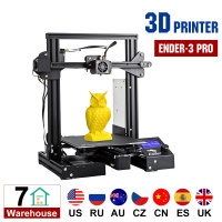 Ender 3 Pro 3D Printer Printing Masks Magnetic Build Plate Resume Power Failure Printing DIY KIT Mean Well Power Supply