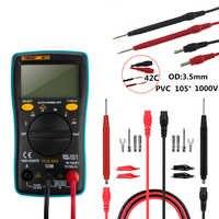 Multimètre numérique ANENG tension ca/cc Ohm compteur de courant 6000 compte ménage affichage électrique résistance à la fréquence diode outil