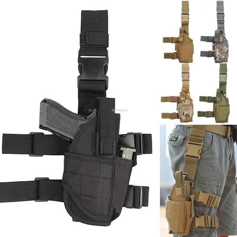 Универсальная кобура для пистолета, тактическая Сумочка для правой руки, сумка для пистолета, ремень для ног для всех пистолетов