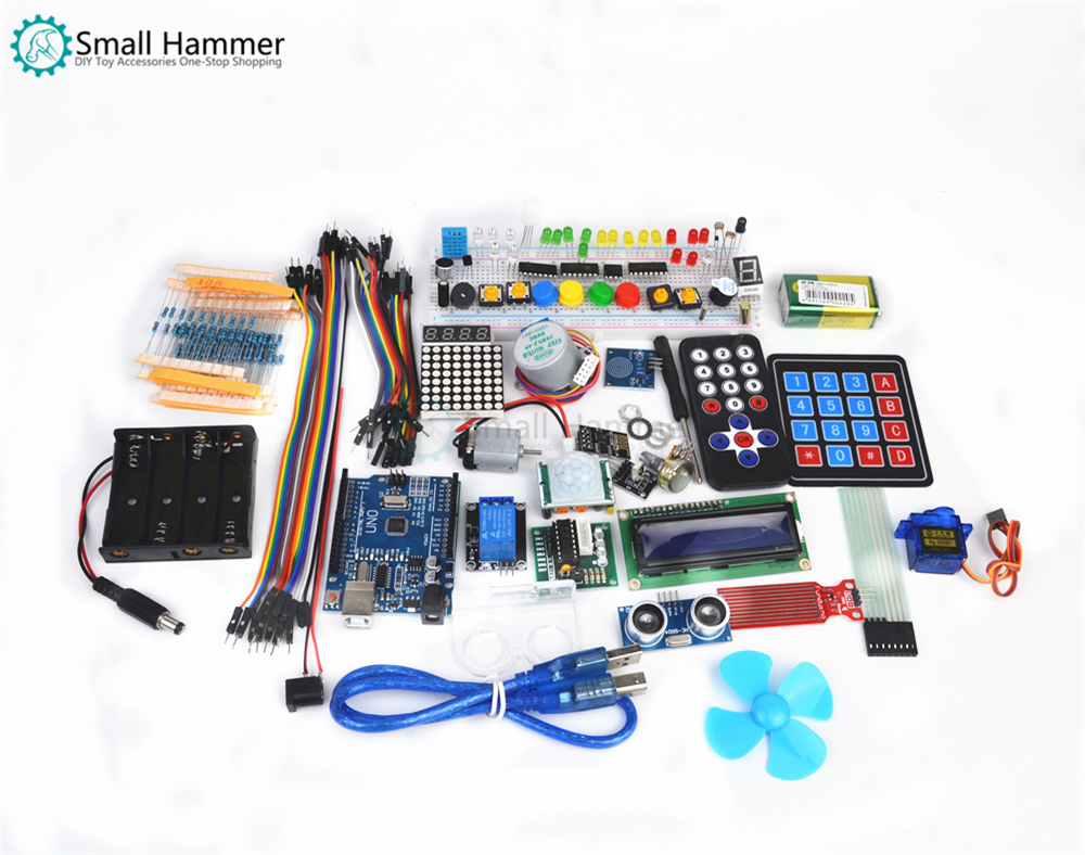 DIY Learning Starter Module Kit For Arduino UNO R3 Upgraded Version Learning