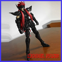 MODEL FANS INSTOCK KW Saint Seiya Specters oce color gold saint EX Aquarius Camus action figure Cloth Myth Metal Armor
