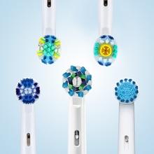 Электрическая насадки зубная щетка Oral B, сменные насадки для Oral B Electric Advance Pro Health Triumph 3D Excel Vitality, 4 шт.